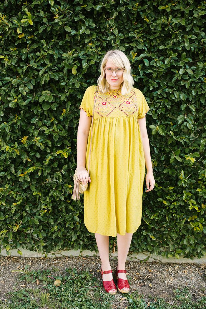 austin fashion blogger writes like a girl yellow zara dress7