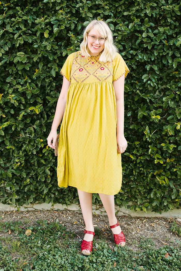 austin fashion blogger writes like a girl yellow zara dress2