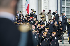 Chief of Staff of the Italian Army, Lt. Gen. Danilo Errico, Participates in an Army Full Honors Wreath-Laying Ceremony at the Tomb of the Unknown Soldier at Arlington National Cemetery