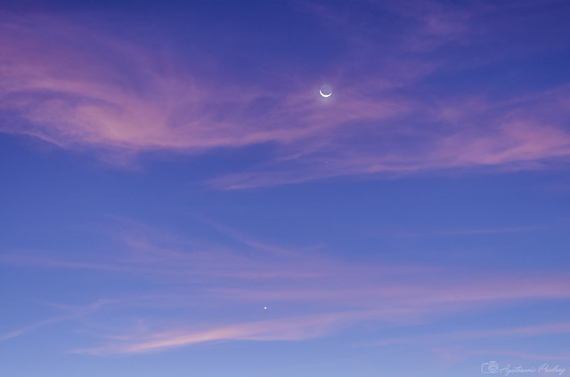 Moon, Mars and Venus