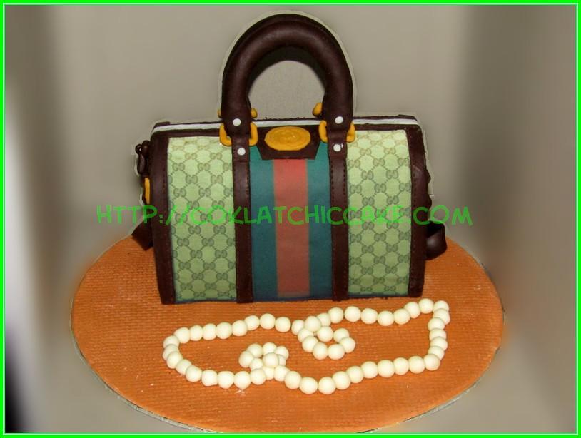 Branded bag cake