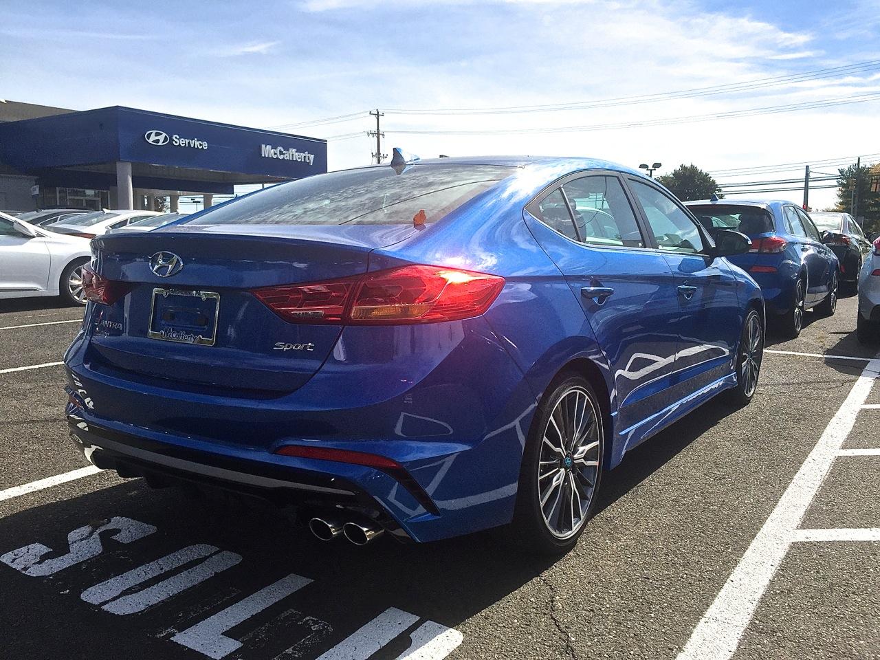Hyundai Elantra Sport 9