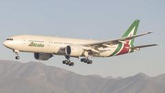 Boeing 777-243(ER) / Alitalia / EI-DBK