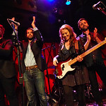Thu, 14/09/2017 - 6:13am - The Lone Bellow (Zach Williams; Kanene Donehey Pipkin; Brian Elmquist) perform for WFUV Public Radio at Rockwood Music Hall in New York City, 9/14/17. Hosted by Rita Houston. Photo by Gus Philippas/WFUV