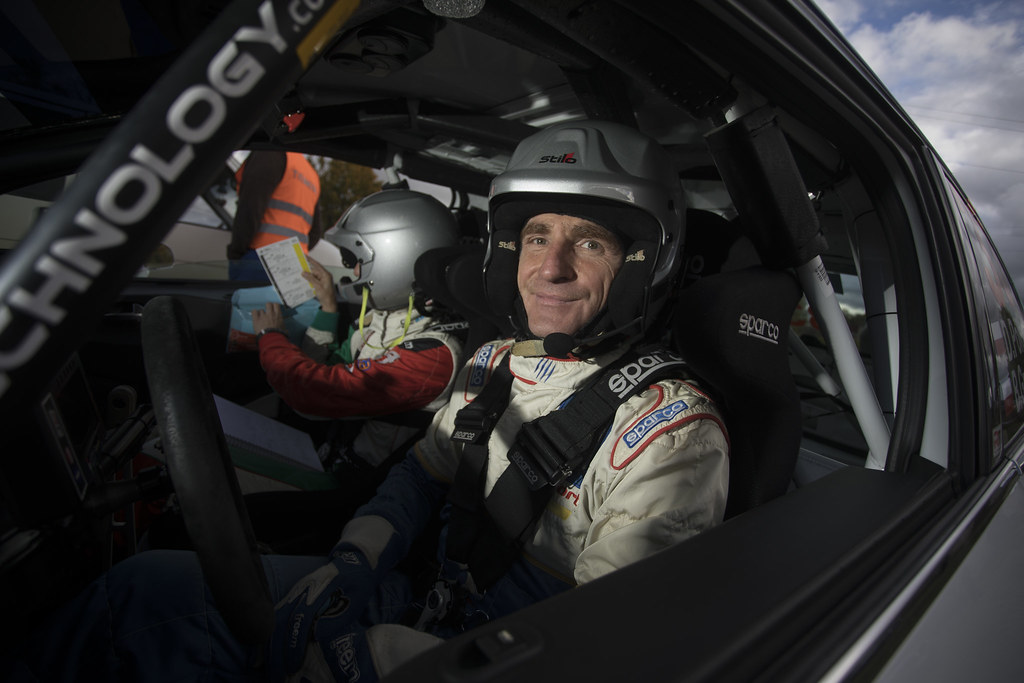 Poloński Dariusz and Gryczyńska Balbina, Rally Technology, Peugeot 208 R2 ambiance portrait during the 2017 European Rally Championship ERC Liepaja rally,  from october 6 to 8, at Liepaja, Lettonie - Photo Gregory Lenormand / DPPI