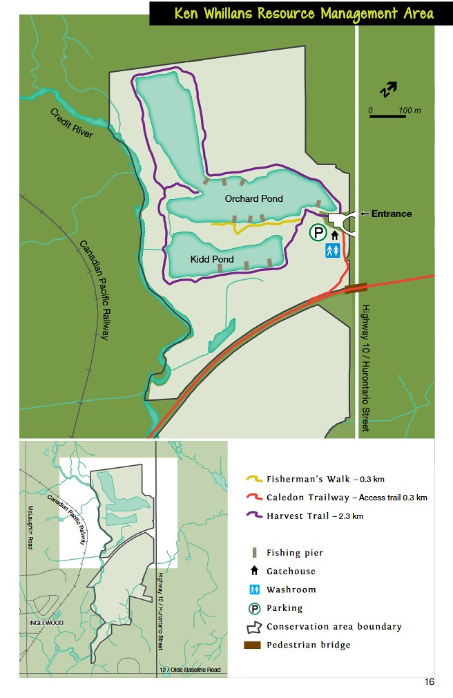 Ken Whillans Resource Management Area Map