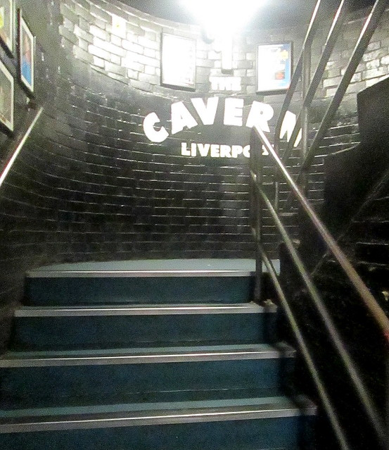 The Cavern stairs