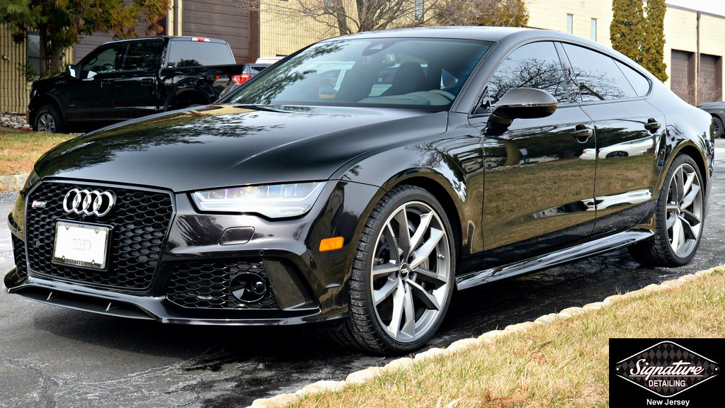 SignatureDetailing.com - Audi RS7 Xpel Ultimate Full Front Paint Protection Film Service