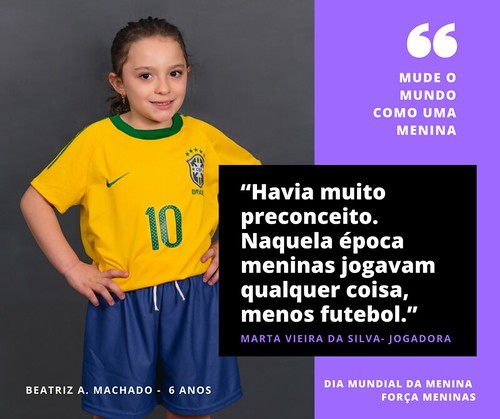 Mude o mundo como uma menina - Campanha
