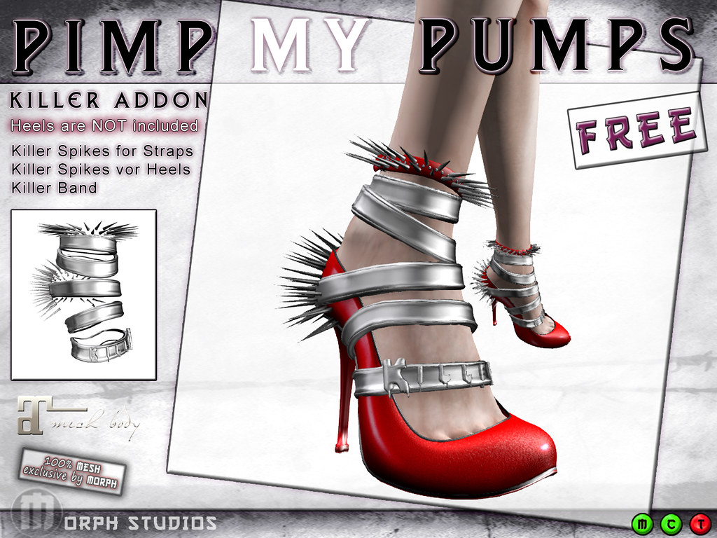 0o Morph KillerSpikes Addon for PimpMyPumps