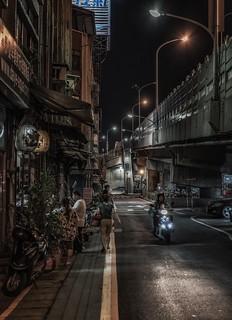 Urban nights, Taipei