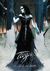 """Another early Christmas present for all Tarja fans! Tarja Turunen's first ever graphic novel """"from Spirits and Ghosts (Novel for a dark Christmas)"""" will be released on November 17th. The 40-page novel will take you to the world of dark Christmas with the"""