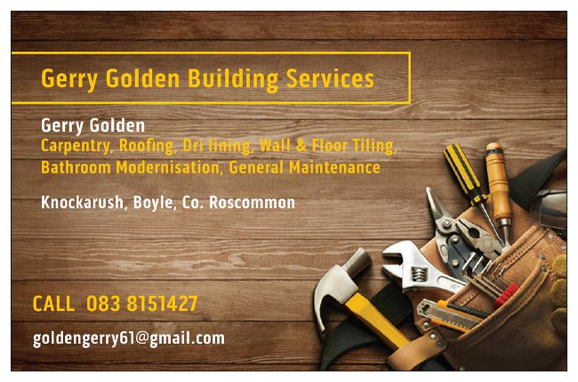Gerry Golden Business Card