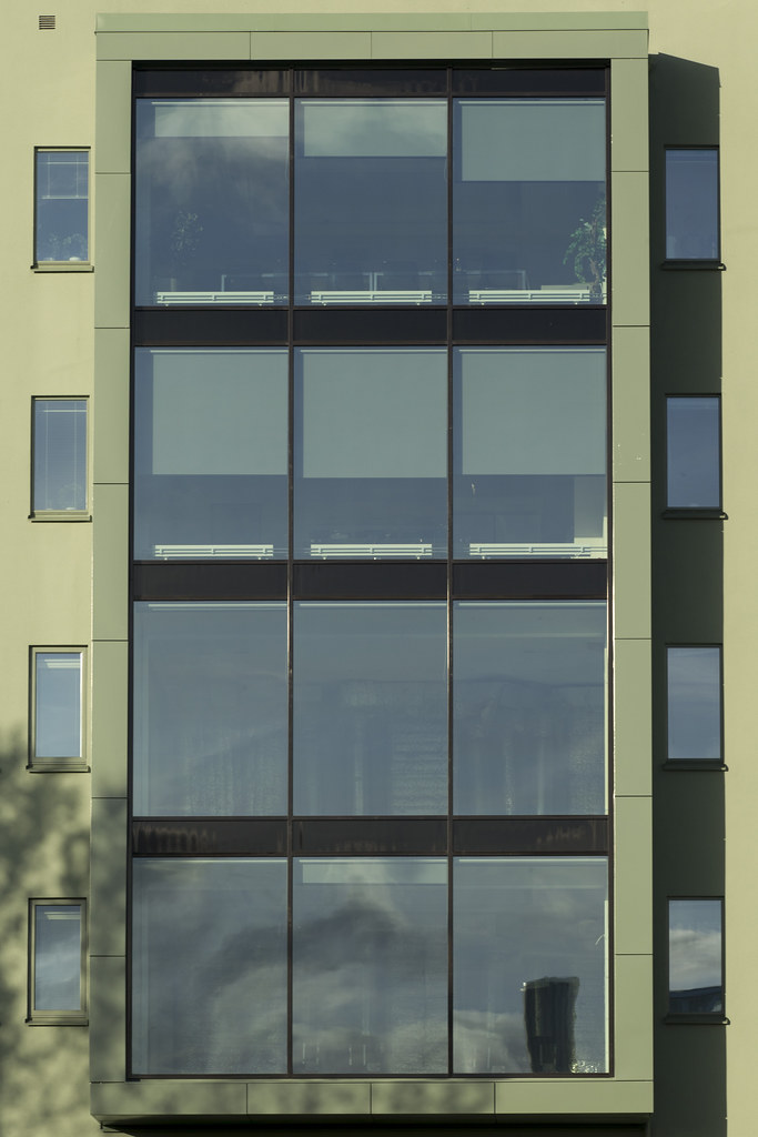 Four-storey window