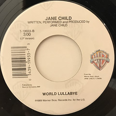 JANE CHILD:DON'T WANNA FALL IN LOVE(LABEL SIDE-B)