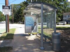 MARTA Bus Stop Shelter