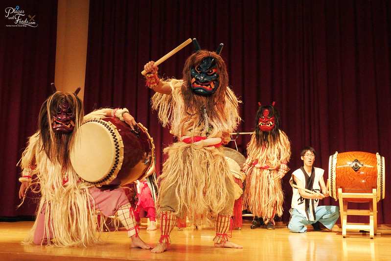 namahage drum trio stop