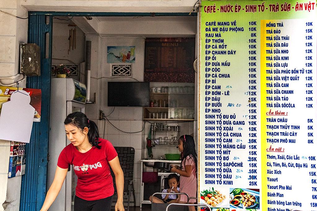 Cafe at Le Lai and Ba Cu--Vung Tau 2