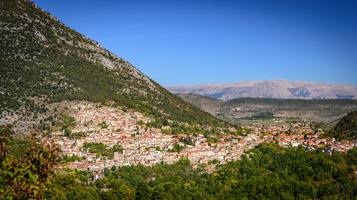 View over Capistrello / Abruzzo / Italy