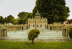 Small Vatican city centre