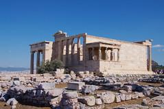 Greece - Athens - Acropolis - The Erechtheum