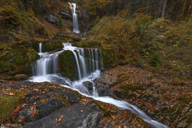 Fall by the waterfalls - Giessbachfälle