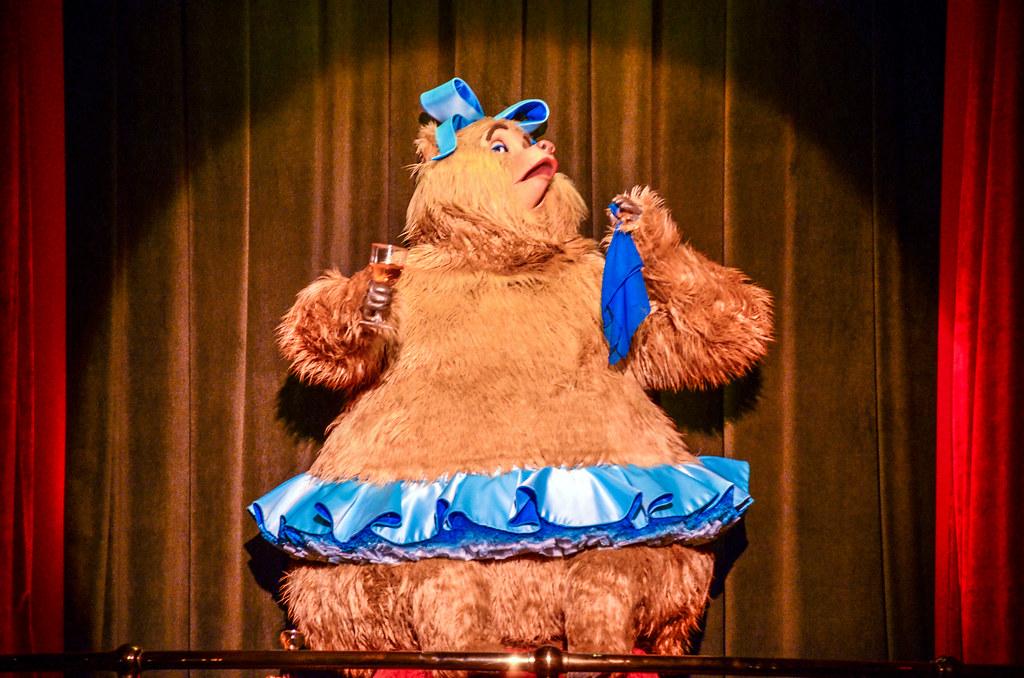 Dancing bear CBJ MK