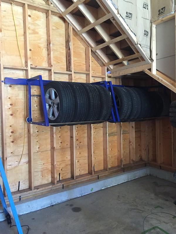 Tire/wheel storage? - The Garage Journal Board