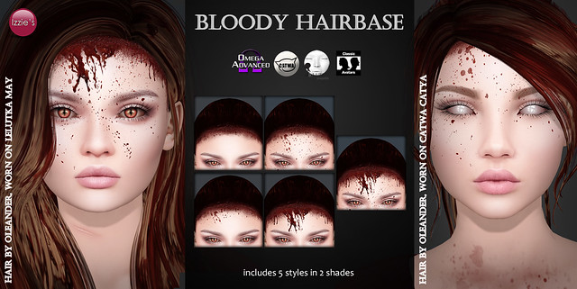 Bloody Hairbase Hunt Gift for OUAN
