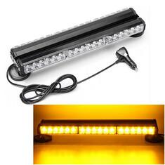 Yellow 36 LED Double Side Emergency Warning Light Bar Burst Strobe Flash Warning Light Lamp (1115181) #Banggood