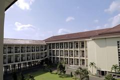Universitas Gadjah Mada main building exterior