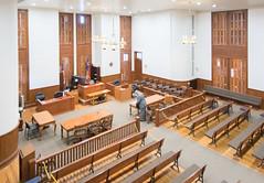 Courtroom,Wharton County Courthouse, Wharton, Texas 1710191340