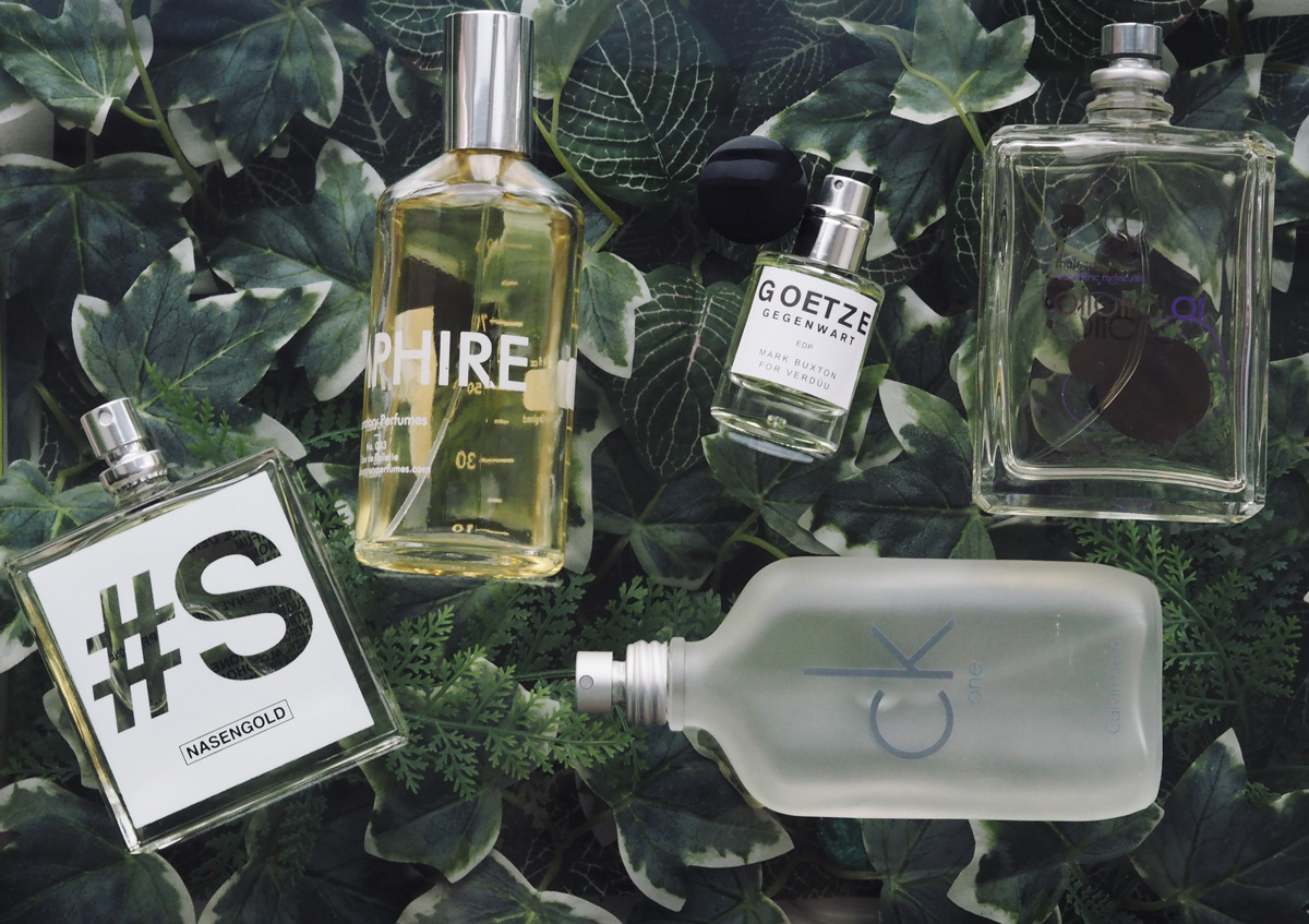 Favourite unisex fragrances