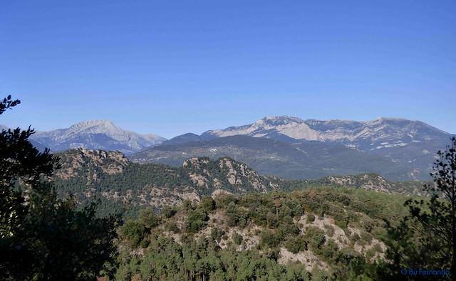 Solsonès 2017 - Exc 05 - Pla de Busa -06- Grau de Les Collades -02- Pedraforca y Serra d'Ensija