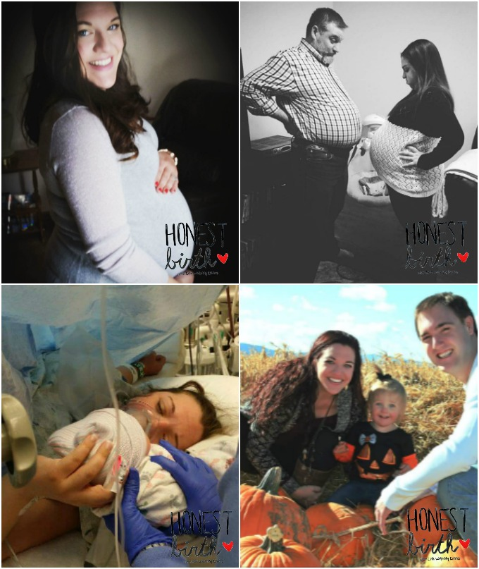 Mama Katie Parton of Book Ink Reviews shares the birth story of her daughter that ended in an emergency C-section on the Honest Birth birth story series!