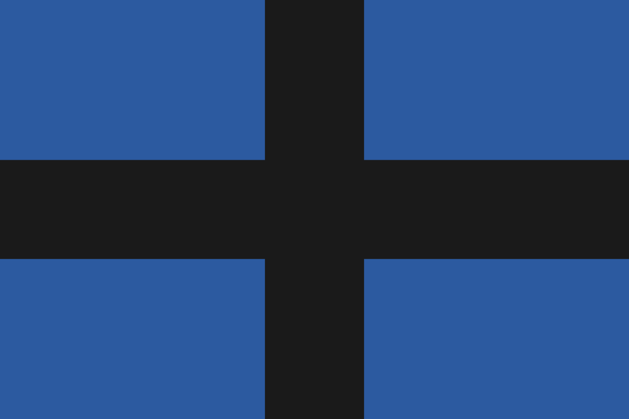 Flag of rebels of Thrace during the Greek War of Independence