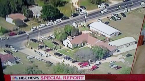 Church shooting near San Antonio, Texas!