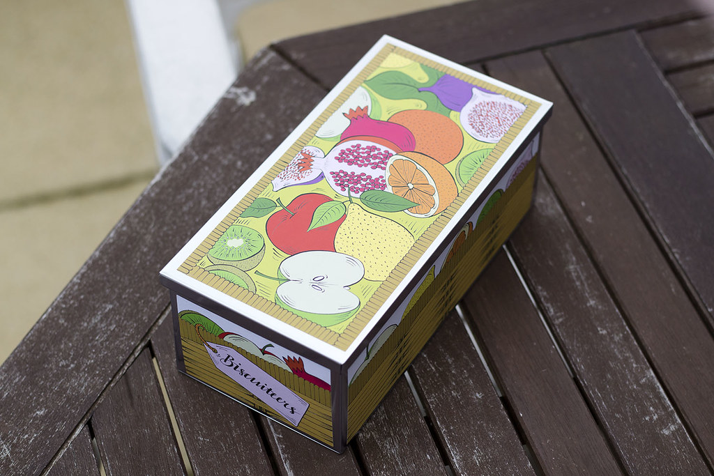 Biscuiteers Fruit Biscuit Box