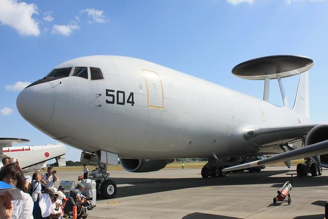 警戒航空隊 第602飛行隊 E-767 84-3504 IMG_4281_2