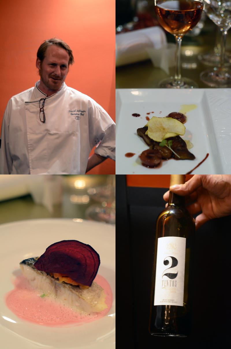 Sofitel Wine Days, chef Daniel Schlaipfer + vinhos Lima Mayer