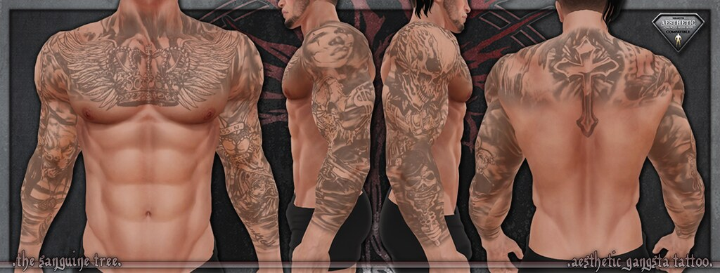 [ new release – aesthetic gangsta tattoo ]