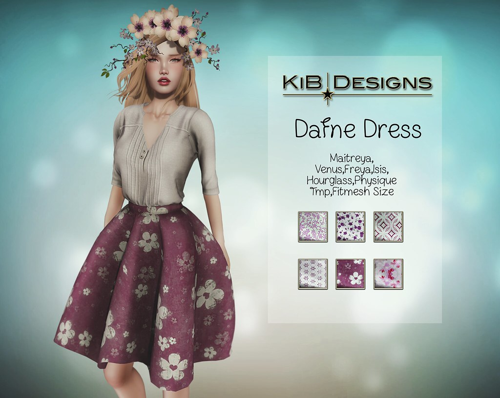 KiB Designs - Dafne Dress (AECC2017) - TeleportHub.com Live!
