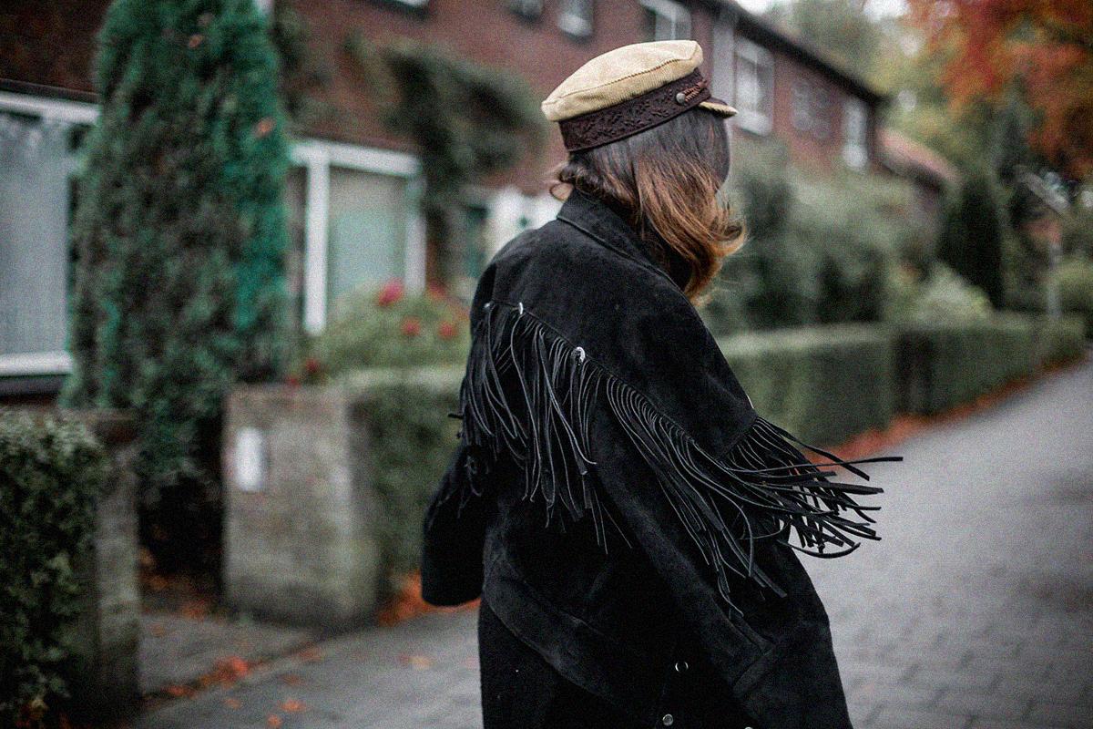chaqueta de flecos vintage-avelinas-vintage-eindhoven-look