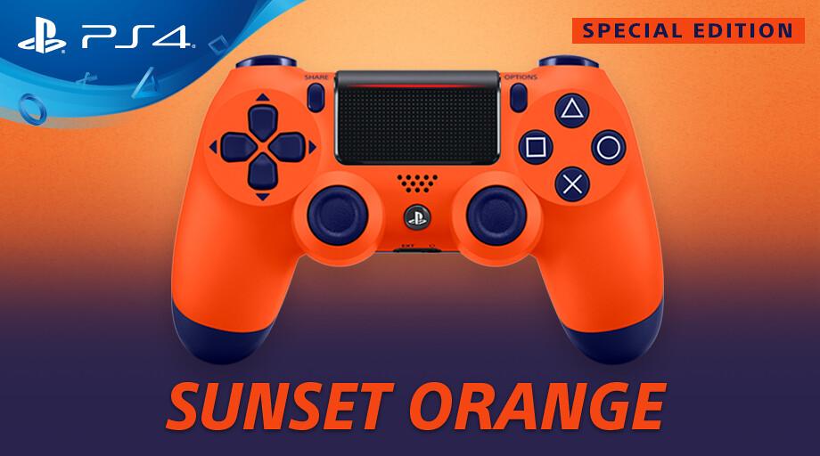 Sunset-Orange-Dualshock-4-twitter