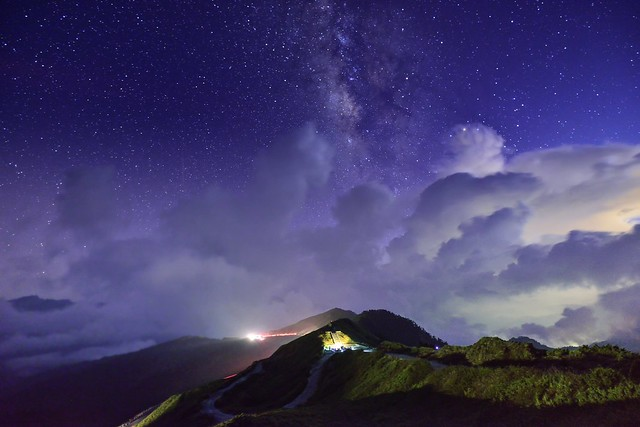 Starry Night, Mountain Hehuan 合歡星夜