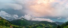 Yağmur Sonrası Bir Günbatımı (A Sunset After Rain)