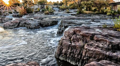 siouxfalls southdakota waterfalls landscape