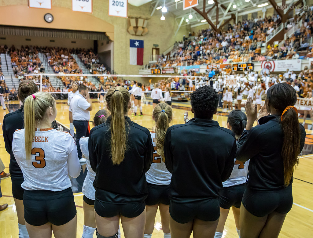 University of Texas Longhorn Volleyball