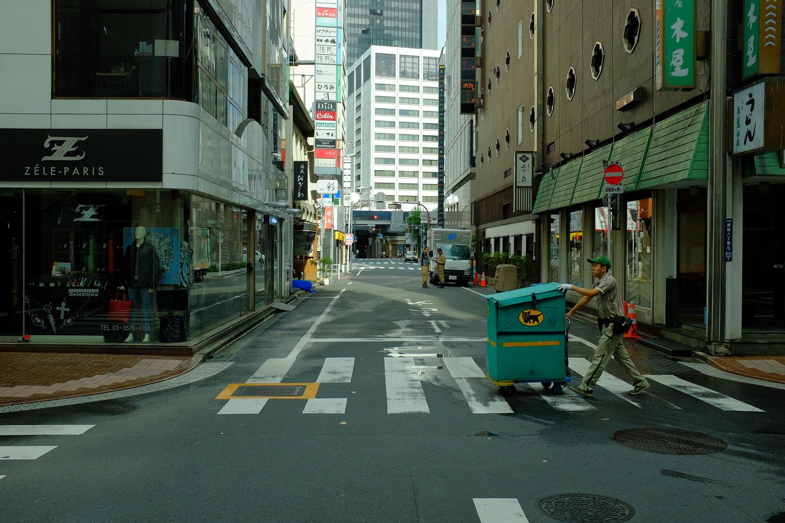 The Ginza to Shinbashi by FUJIFILM X100S.