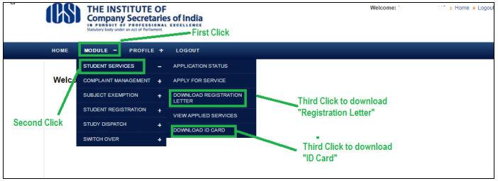 CS Foundation ID Card Download
